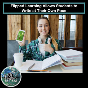 One benefit of the flipped classroom is that students can write notes at their own pace
