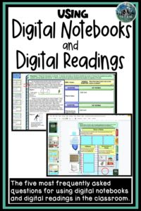 How to use digital interactive notebooks and digital guided readings