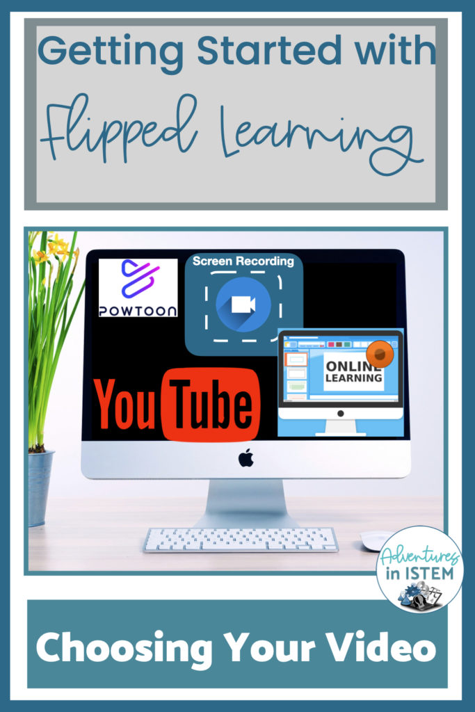 how to choose your video when using the flipped learning model