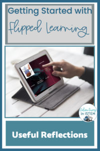 using reflections with the flipped classroom model