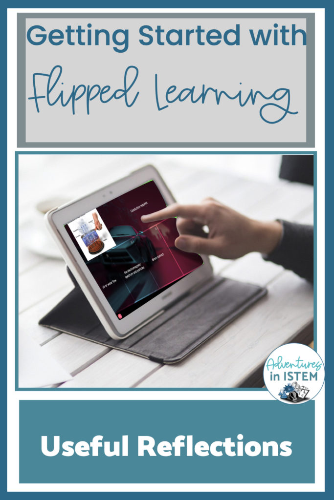 using reflections with flipped learning