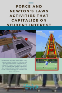 Force and Newton's Laws Activities that capitalize on student interest