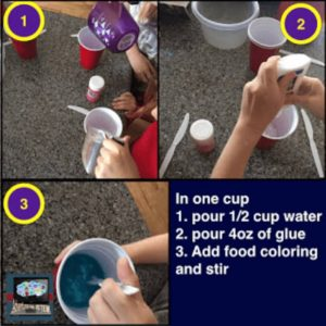 How to make slime part 1