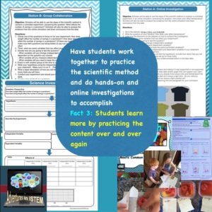 To improve student learning students need to practice applying the information