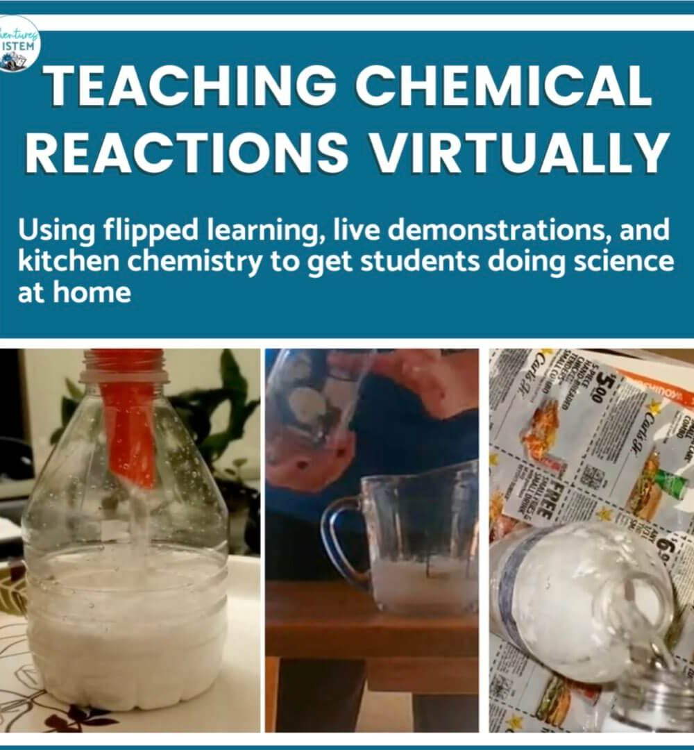 teaching chemical reactions virtually