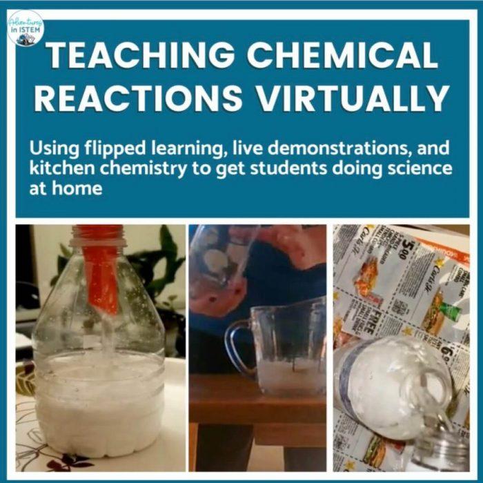 teaching chemical reactions virtually